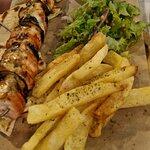 Large Chicken Suflaki