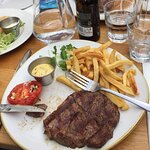 steak - frites with béarnaise sauce