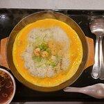 鉄板イタめし 黄金の卵 チャーハン味 スープ付き(580円)