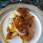 Solomillo con miel y mostaza