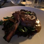 Veal Chop Presented Well