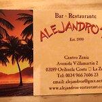 Bilde fra Alejandro's Bar-Restaurante