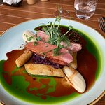 Wonderful melt in the mouth duck breast
