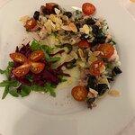 Octopus salad starter