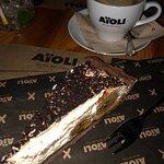 Pyszna kawa oraz deser banoffi :)