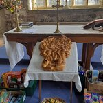The Harvest Loaf created especially for St Hywyn's Church
