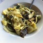 Parpardelle Vegetariano - absolutely delicous