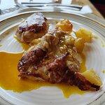 Solomillo de cerdo con mostaza y miel