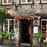 Entrance to Le Lapin Saute