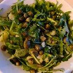 Potatoe, rucola and caper salad