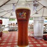 Weihenstephaner Hefeweissbier Dunkel, yummy ... one of my favourite beers.