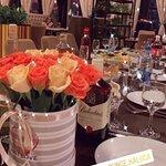 Фотка столика перед началом празднования))
