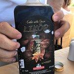Local coffee/ouzo liqueur