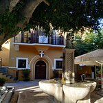 This is at the center of the small village of Salakos.The fountain , or SINTRIVANI in Greek.Wher