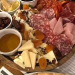 Cheese and ham board