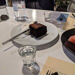 The obligatory dessert