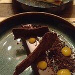 chocolate tart és mille feuille