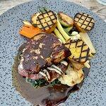 Steak and foie gras
