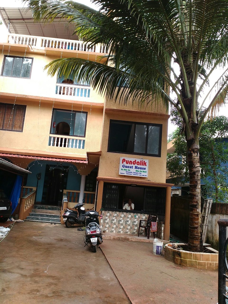 pundalik guest house goa calangute lodge reviews photos rate rh tripadvisor in