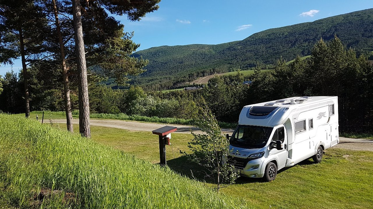 Faksfall Camping Campground Reviews Dombas Norway