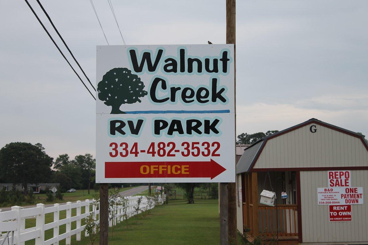 WALNUT CREEK RV PARK - Campground Reviews (Troy, AL