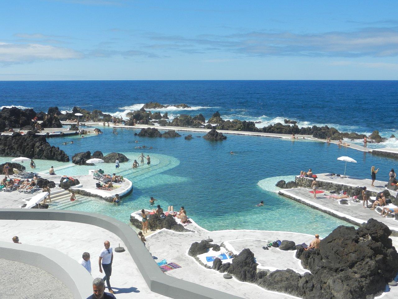 Foto Di Piscine Private porto moniz natural swimming pools - all you need to know