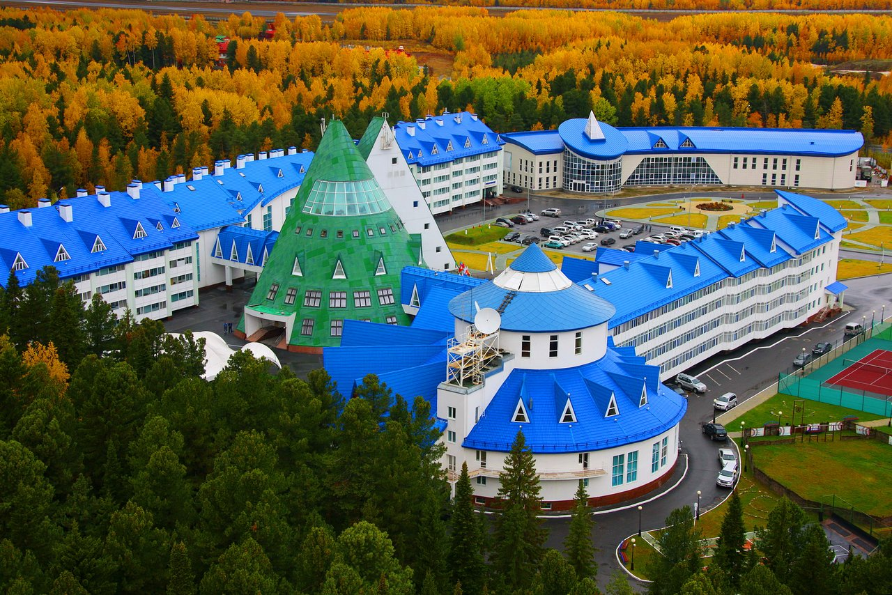 Yugorskaya Dolina hotel -ハン...