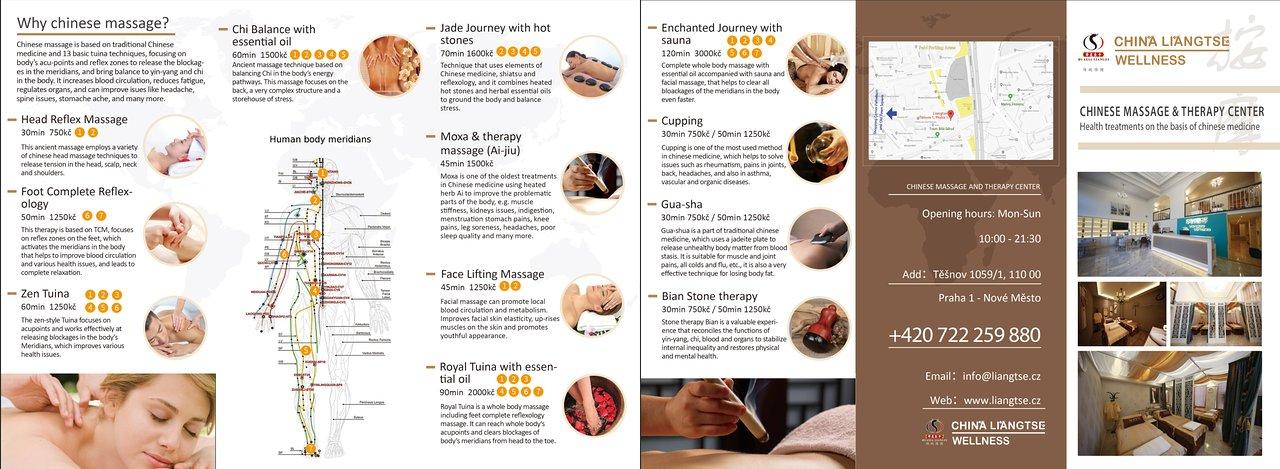 Massage essen chinesische Preise
