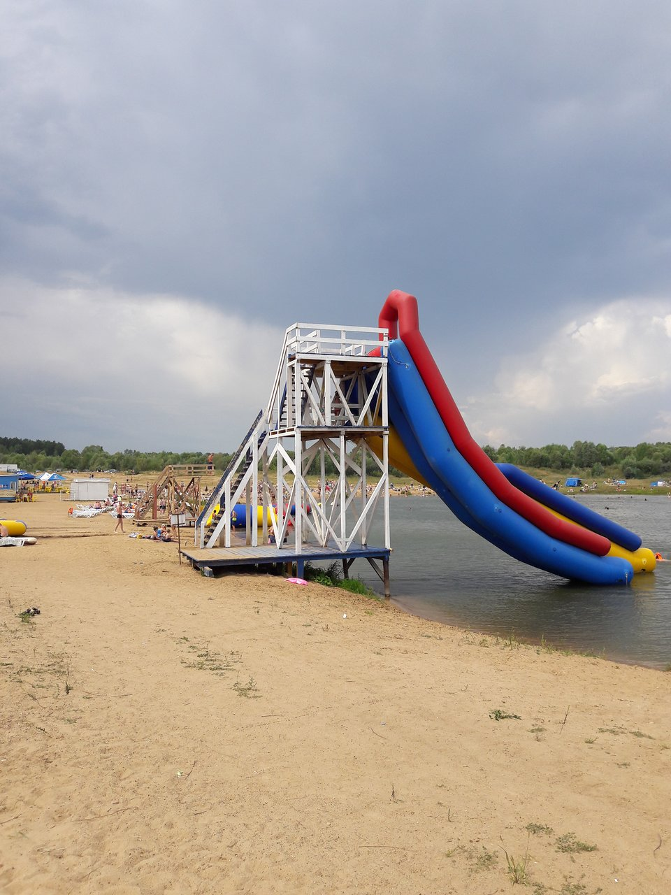 The water park in Serpukhov is the best place for a family holiday in the city