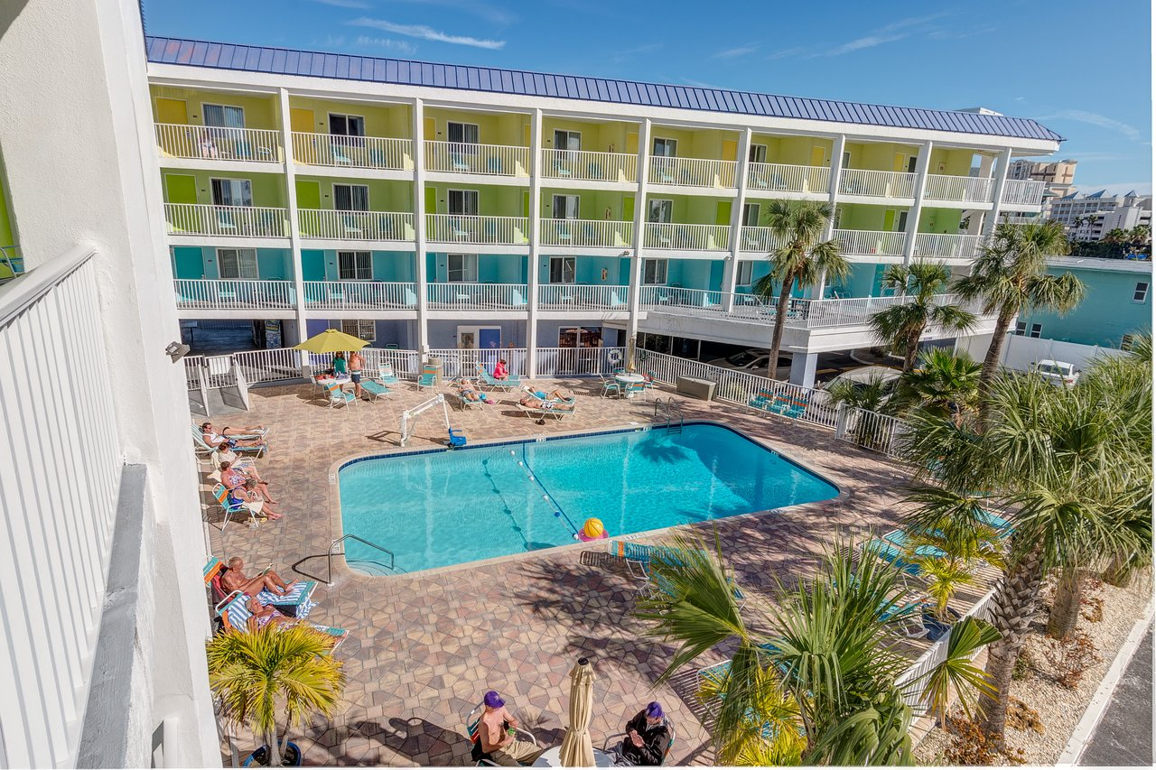 Clearwater Beach Hotels Map on