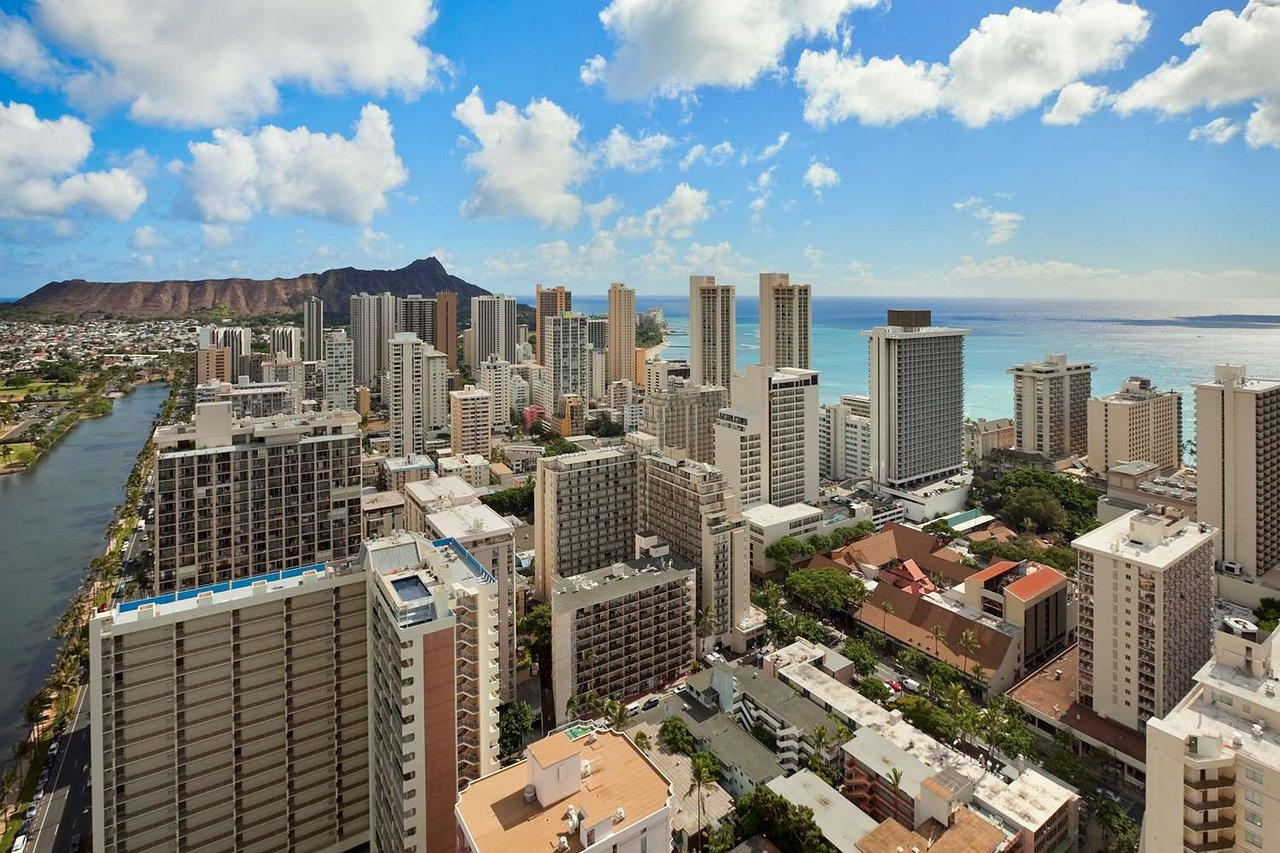 Image result for honolulu skyline