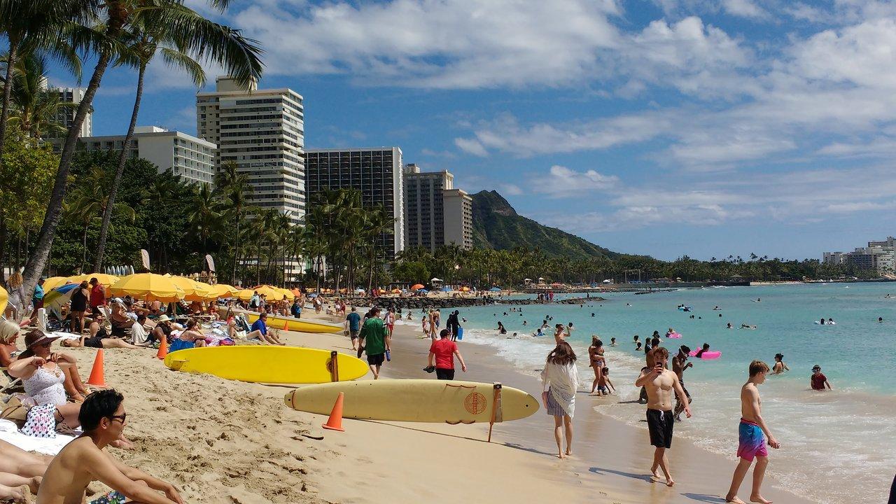 Waikiki Beach Walk Honolulu 2020