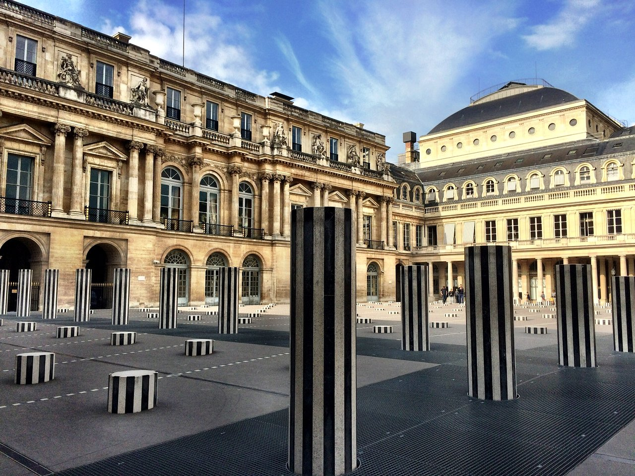 Domaine National du Palais-Royal (Παρίσι, Γαλλία) - Κριτικές