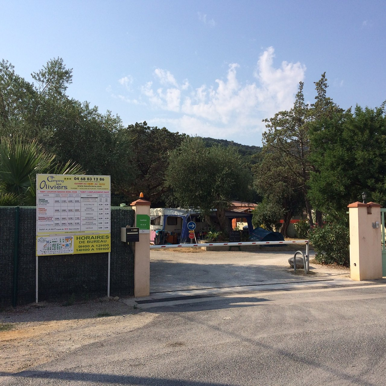 Camping Les Oliviers Campground Reviews Le Boulou France