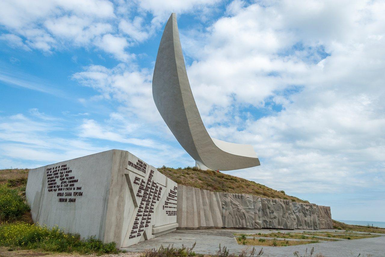 Памятник Эльтигенскому десанту