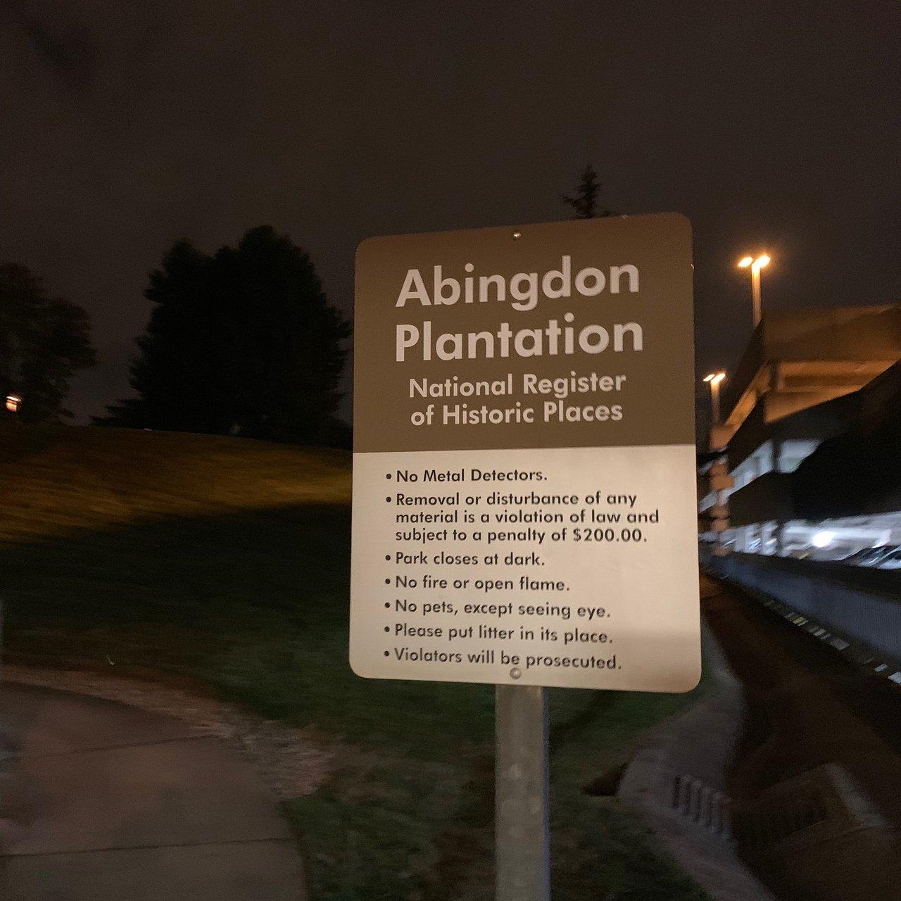Abingdon Plantation Alexandria 2020 All You Need To Know