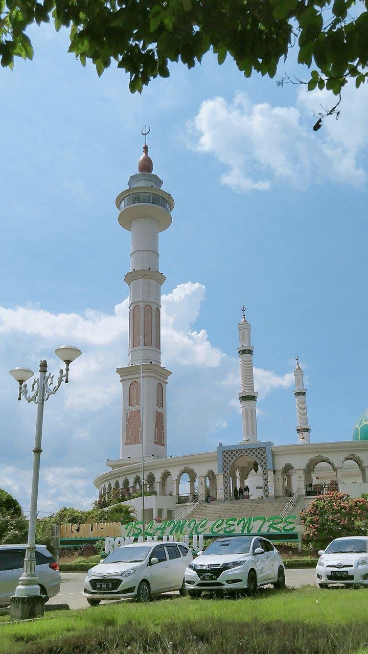 Masjid Agung Madani Rokan Hulu Pasirpengarayan Indonesia Review