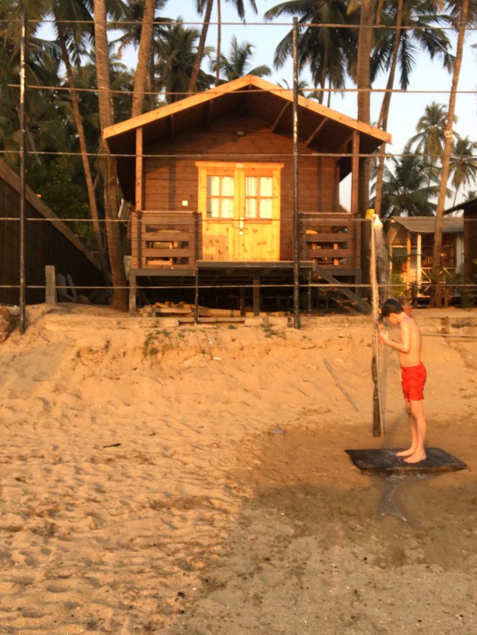 Roundcube beach bungalows cottage goa canacona