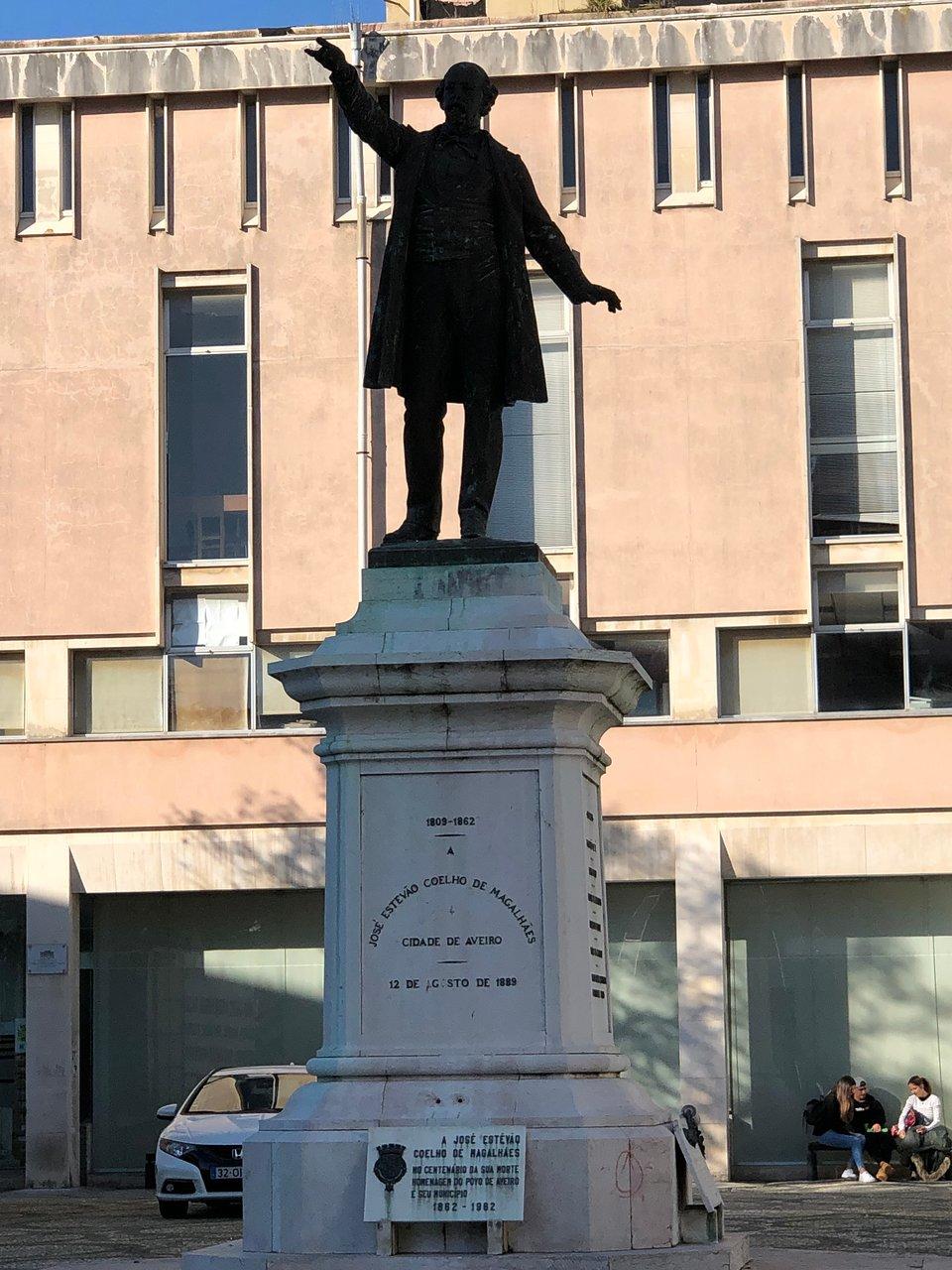 Estatua José Estêvão Coelho de Magalhães (Aveiro) - ATUALIZADO ...
