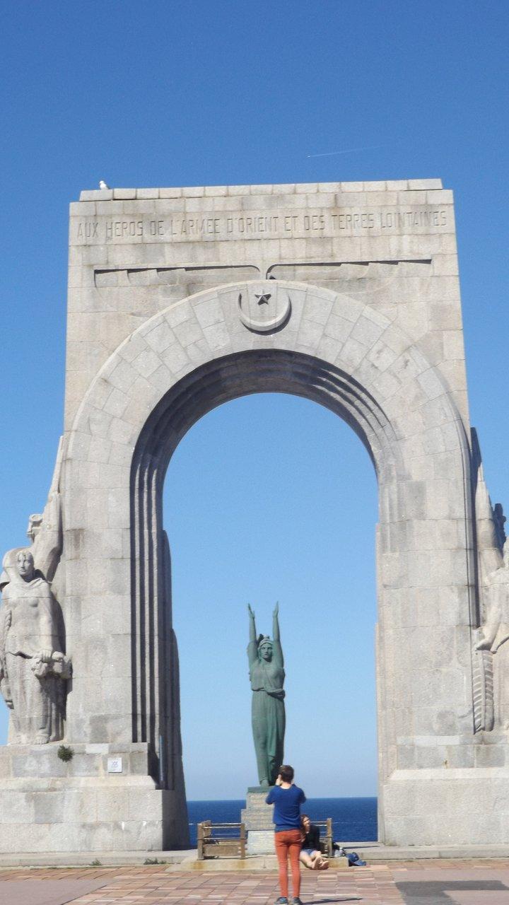 Image result for Marseille Corniche du Président John Fitzgerald Kennedy statues
