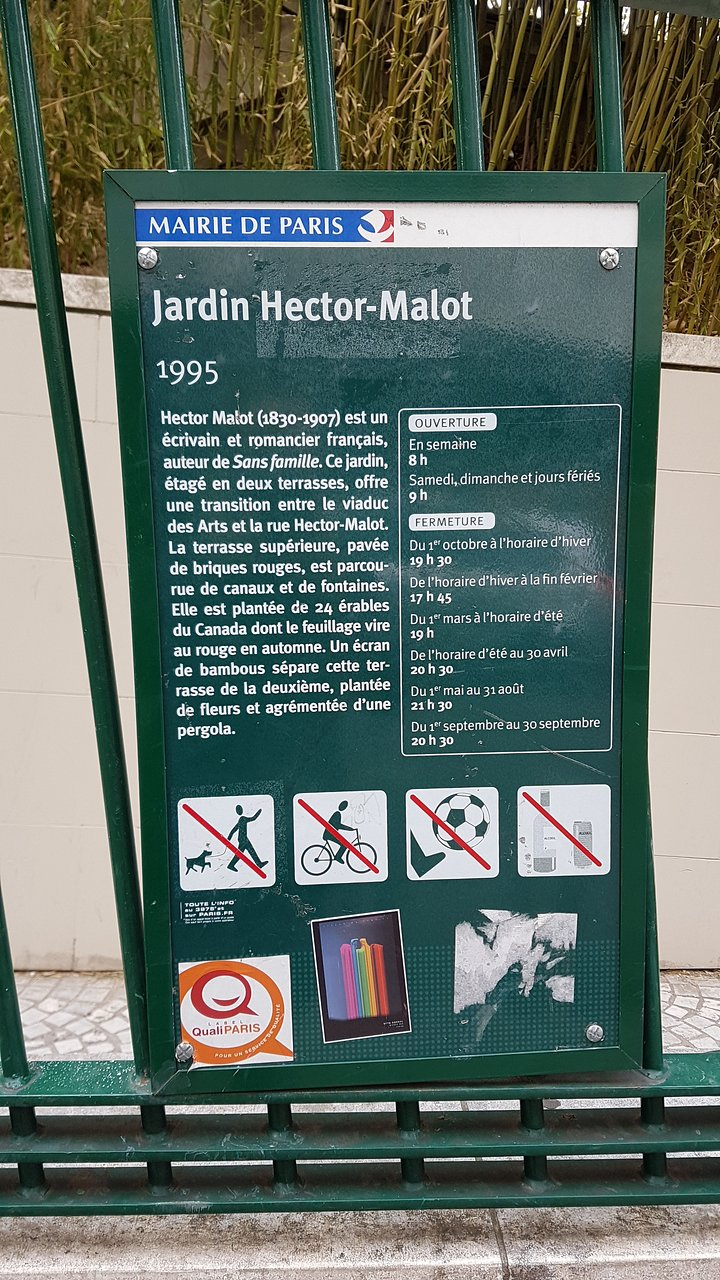 St Malo Fil Rouge jardin hector malot (paris) - 2020 all you need to know
