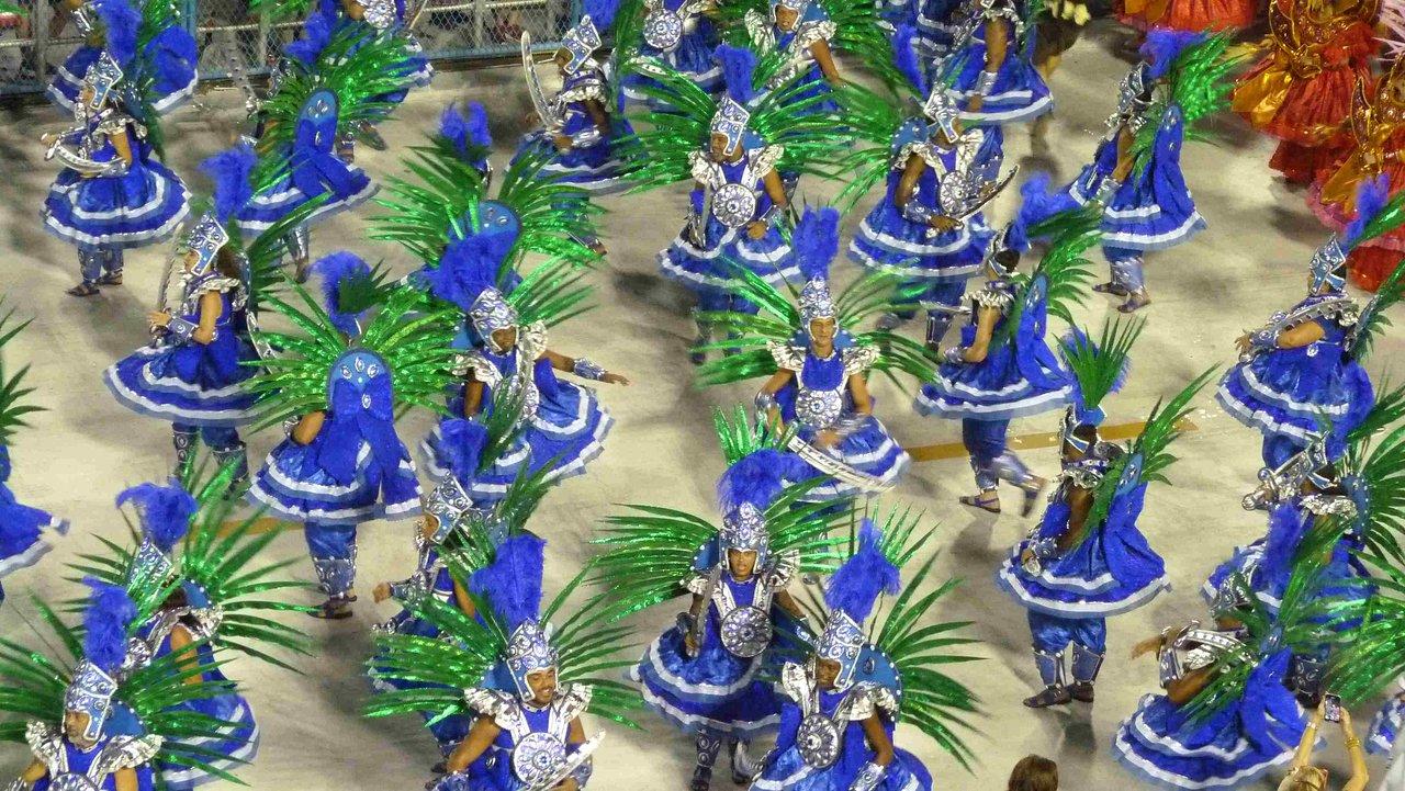 Rio karnawałowa orgia