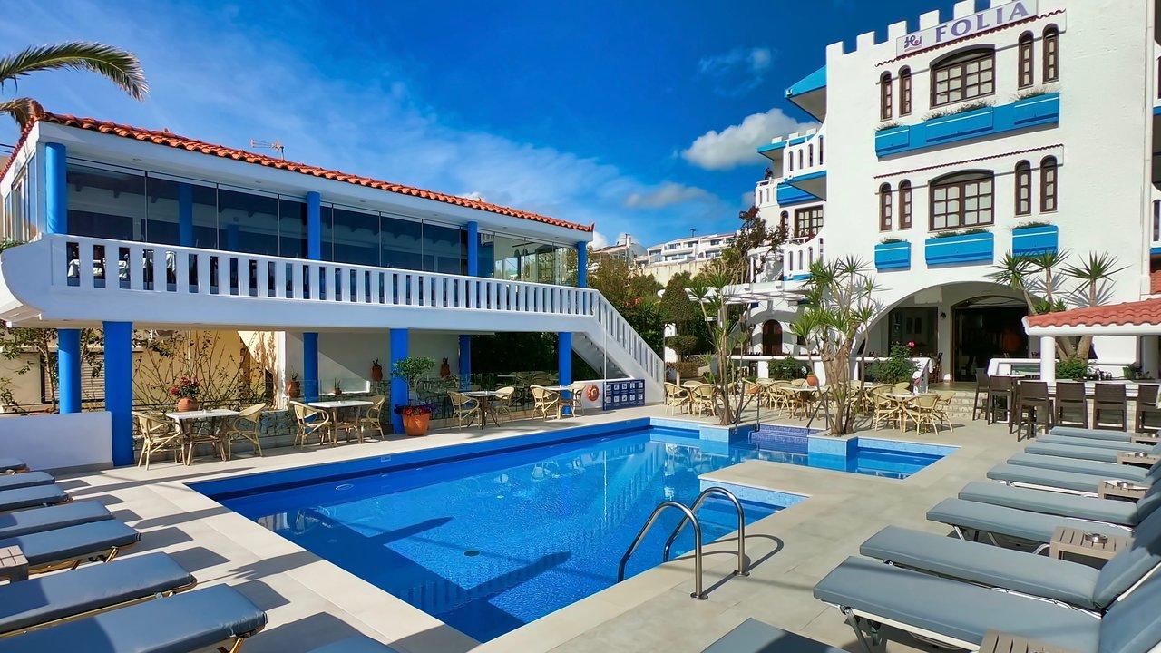 Folia Apartments Hotel Reviews Crete Agia Marina Chania