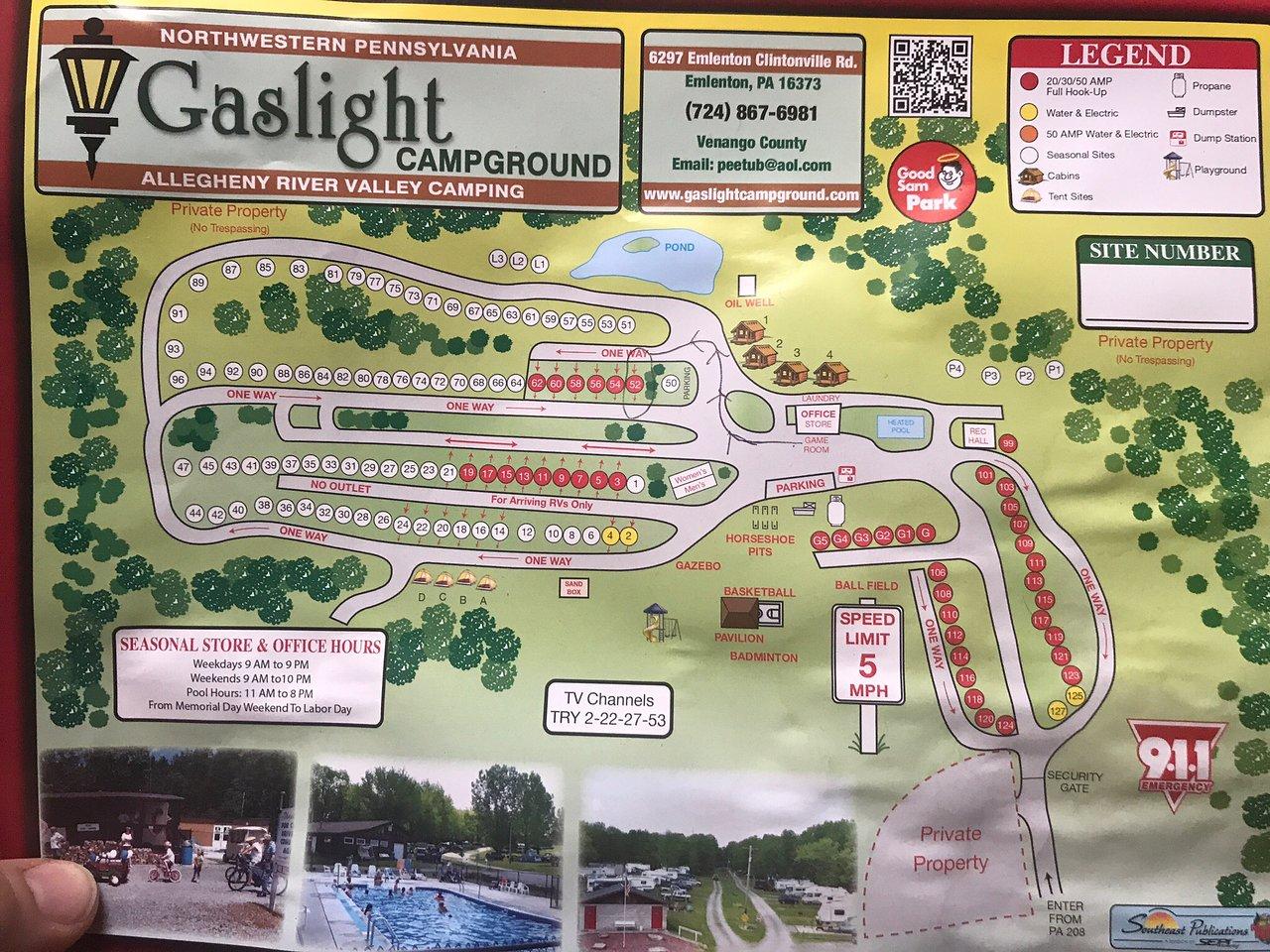 GASLIGHT CAMPGROUNDS Updated 2019 Campground Reviews Emlenton PA