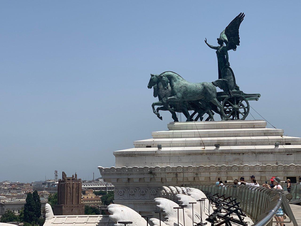 Roma Dal Cielo Terrazza Delle Quadrighe 2020 Qué Saber