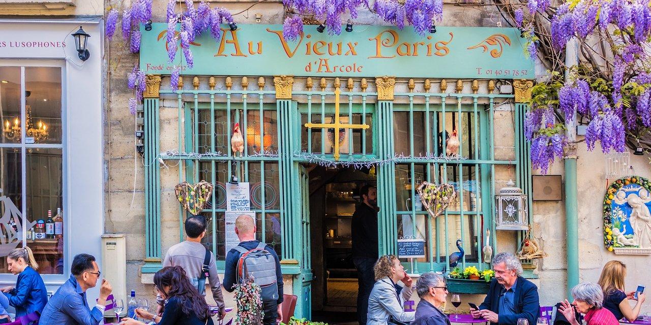 Au Vieux Paris Ile De La Cite Ile Saint Louis Restaurant