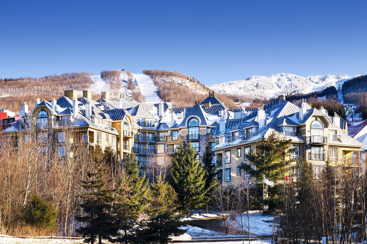 Quebec Ski Resorts Map on