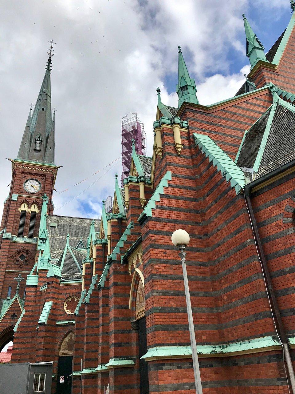 Oscar Fredriks kyrka in Masthugget, Gteborg, Sweden | Sygic