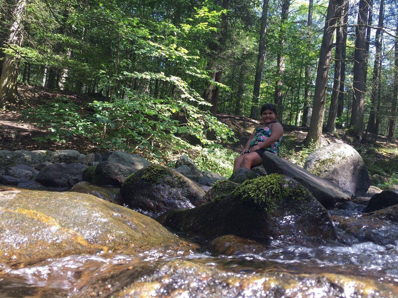 The Bridge Accesses The Falls Picture Of Kent Falls State Park Kent Tripadvisor