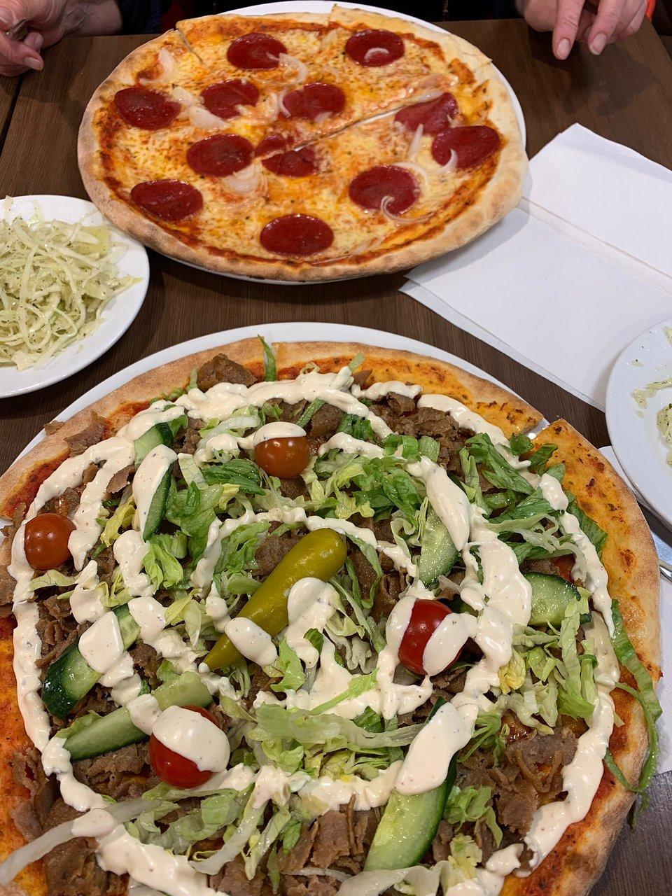 mårtens pizzeria lund meny